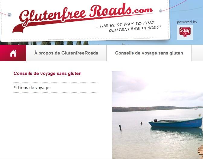 site pour les voyageurs intolérants au gluten