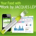 une fourchette électronique pour manger plus lentement