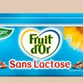 Fruit d'or léger et sans lactose
