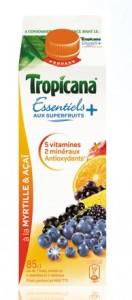 Tropicana essentiels + myrtille acai