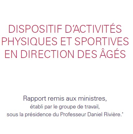 Rapport activités physiques et seniors