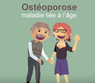 Conseils vidéos pour prévenir l'ostéoporose avec l'institut Pasteur de Lille